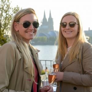 """Welcome reception at """"Rheinterrassen"""", UFI Europakonferenz Köln"""