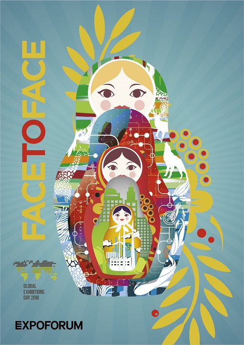 2nd Category Winner Series Of Posters Fruit Attraction Ifema Feria De Madrid Spain Designed By Javier Penas And
