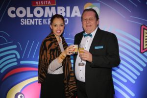 Ana Maria Arango, UFI's Regional Manager for Latin America and Sergio Baritussio, CEO of Eventos Latinoamericanos